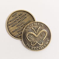 Women In Recovery Bronze Affirmation Medallions