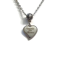 Women Do Recover Heart Necklace