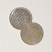 Women in Recovery Aluminum Affirmation Coin