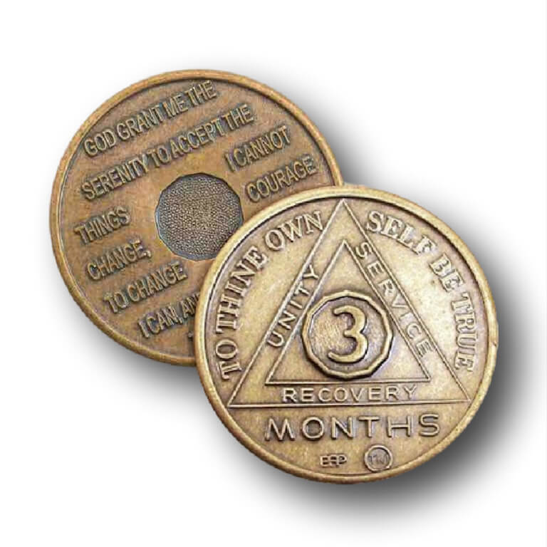 BSP Bronze AA Tokens 24HR & Months