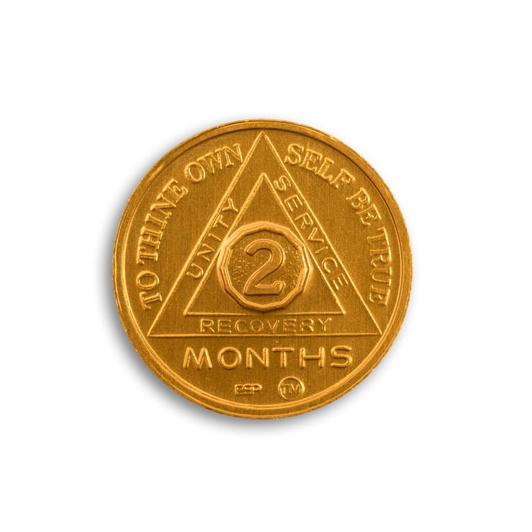 2 month aa coin