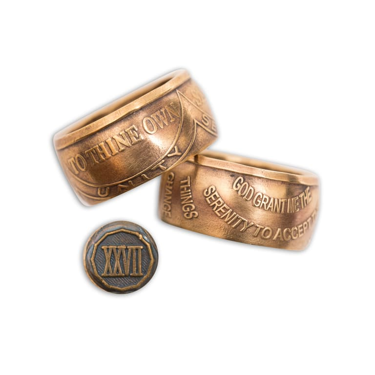 Coin Rings