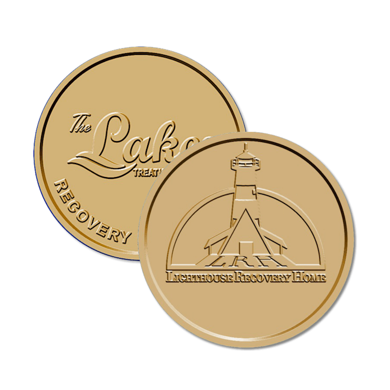 Custom Bronze AA Coins