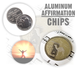Aluminum Affirmation AA Chips