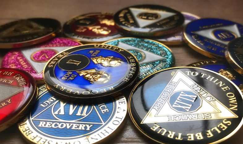 What Are The Different Types Of AA Sobriety Medallions?