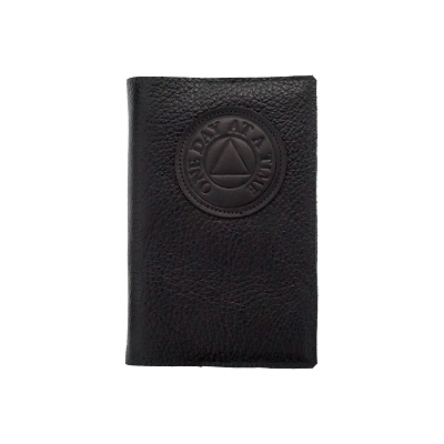 Maroon Leather AA Big Book Cover
