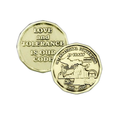 2020 International AA Convention Official Coin