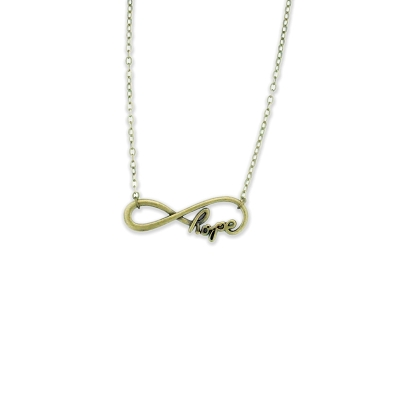 Bronze Infinite Hope AA Necklace