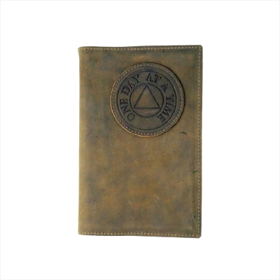 Brown Leather AA Big Book Cover