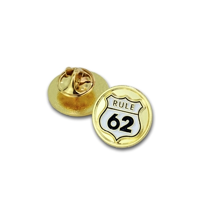 Rule 62 lapel pin