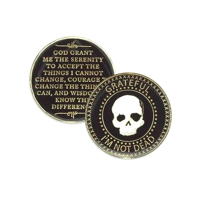 Grateful I'm Not Dead Medallion