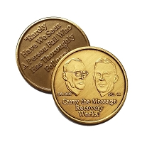 Carry The Message Bronze Affirmation Medallion