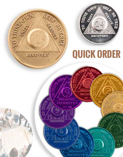AA Coins, AA Chips, and AA Tokens at The Token Shop