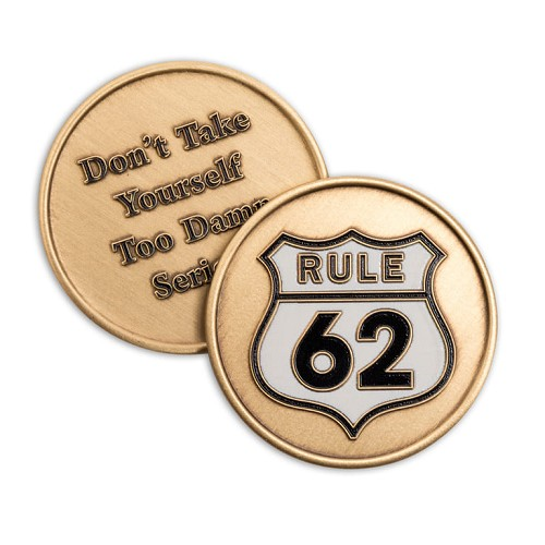 Rule 62 Premium Affirmation Medallion