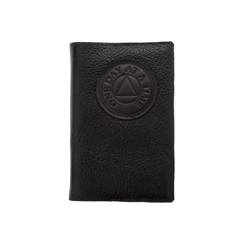 Black Leather AA Big Book Cover