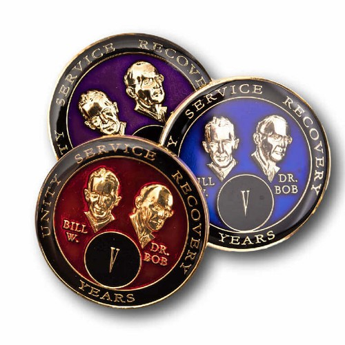AA Founders Triplate Medallions