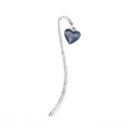 Recovery Bookmark Serenity Heart