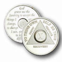 .999 Solid Fine Silver Precious Metal AA Anniversary Medallions